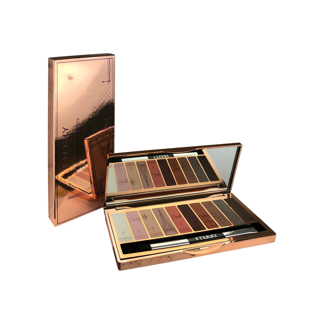 Paris Eye Light Makeup Eye Shadow Palette Set with 10 colors by Terry