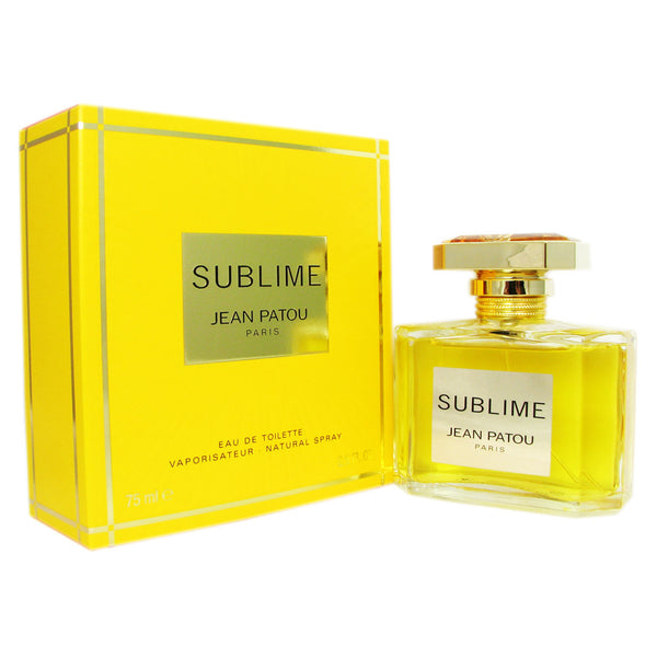 Sublime for Women by Jean Patou 2.5 oz Eau de Toilette Spray