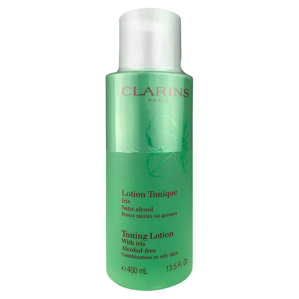 Clarins Face Toning Lotion with Iris 13.5 oz for Combination or Oily Skin