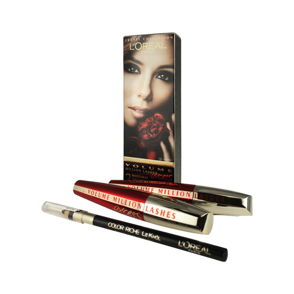 L'Oreal Volume Million Excess Lashes Mascara Set of 2 - .3 oz Each