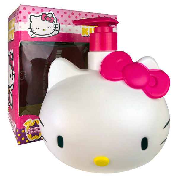 Hello Kitty Liquid Coconut Hand Soap 16.9 oz With Pump