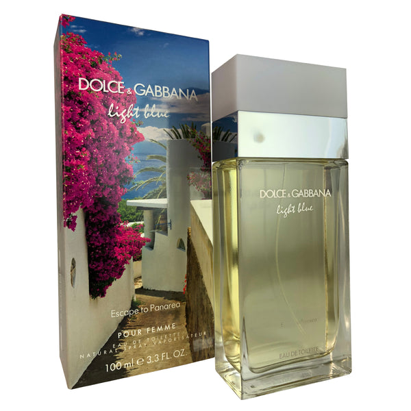 Dolce & Gabanna Light Blue Escape To Panarea Women 3.3 oz Eau De Toilette Spray