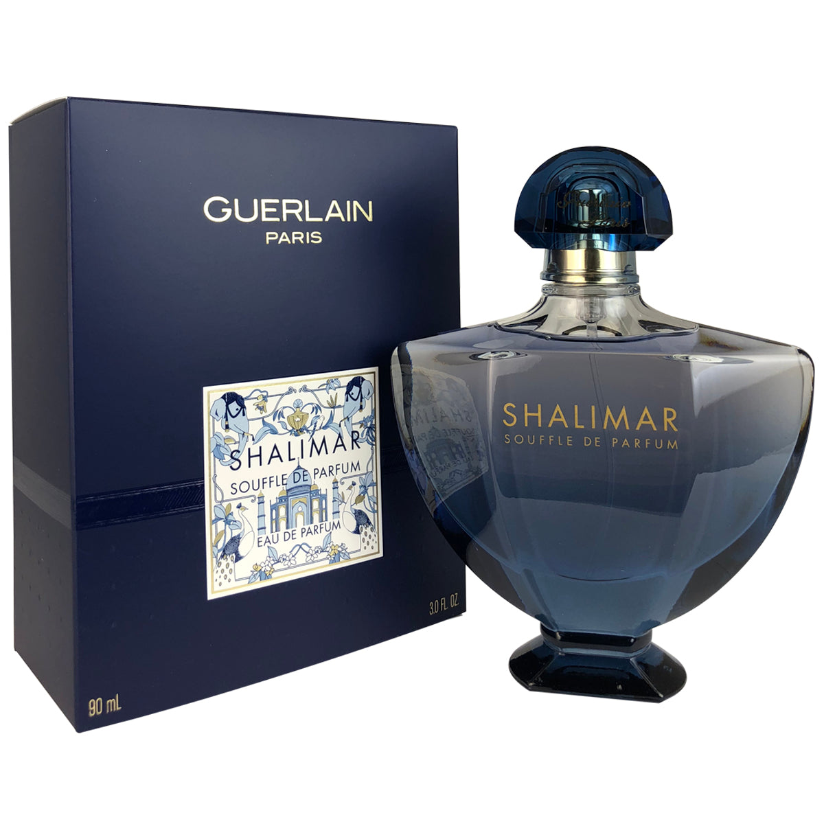 Shalimar Souffle De Parfum For Women by Guerlain 3 oz Eau De Parfum Spray