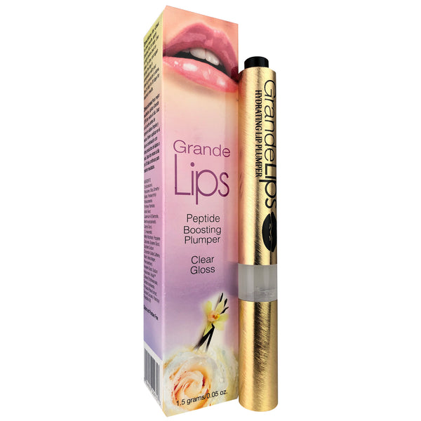 Grande Lips Peptide Clear Gloss Lip Plumper .05 oz