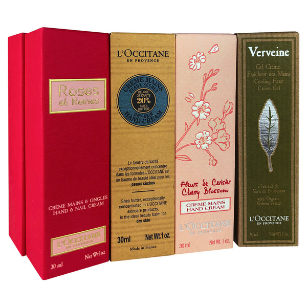 L'Occitane Fortune 8 hands Kit 1 oz tubes