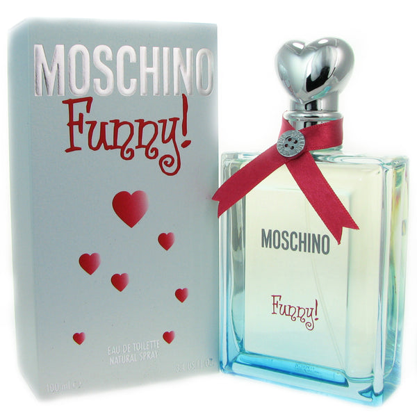 Moschino Funny for Women 3.4 oz Eau de Toilette Spray