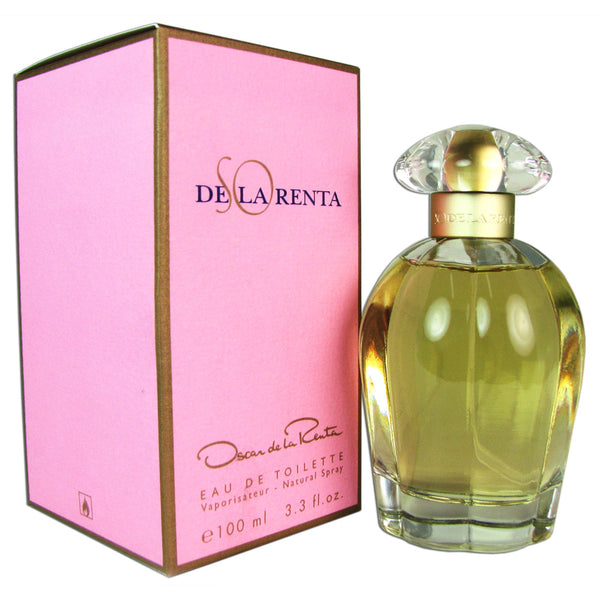 SO de La Renta by Oscar de La Renta 3.3 oz Eau de Toilette Spray