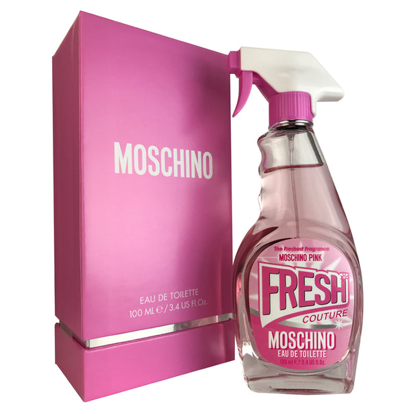 Moschino Fresh Pink For Women by Moschino 3.4 oz Eau De Toilette Spray