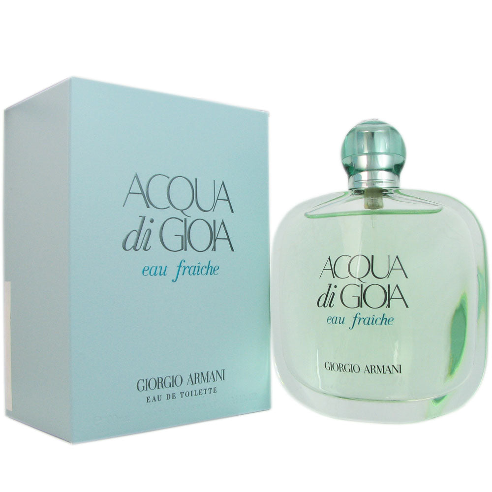 Acqua di Gioia Eau Fraiche for Women by Armani 3.4 oz Eau de Toilette Spray