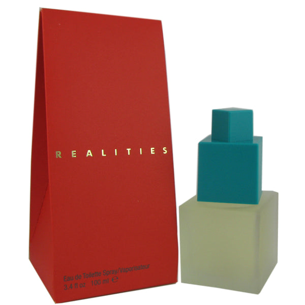 Realities for Women by Liz Claiborne 3.4 oz Eau de Toilette Spray