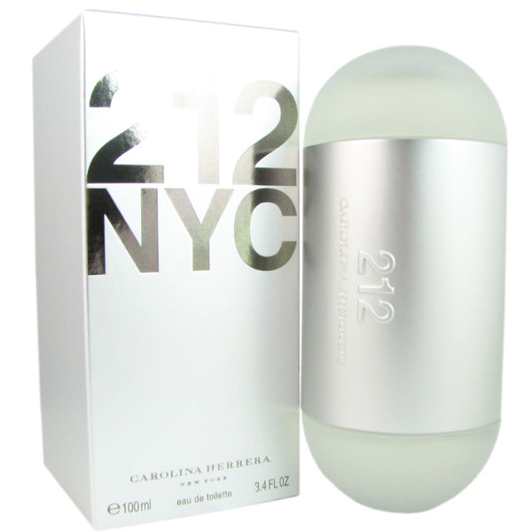 212 Carolina Herrera for Women 3.4 oz Eau de Toilette Spray