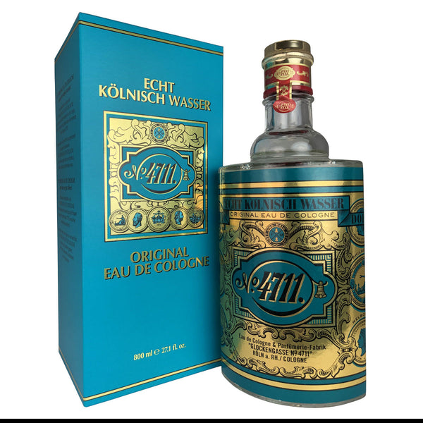 4711 Cologne by Muelhens 27.1 oz 800 ml Splash Bottle