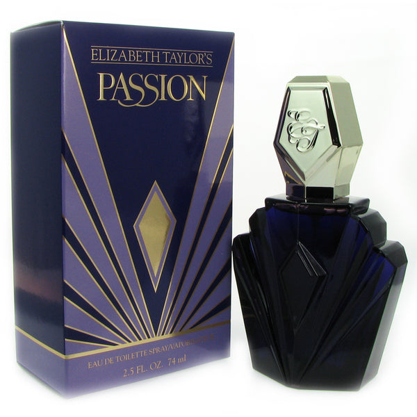 Passion Women by Elizabeth Taylor 2.5 oz Eau de Toilette Spray