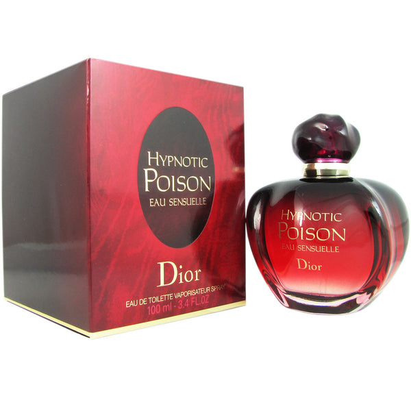 Hypnotic Poison Eau Sensuelle for Women by Dior 3.4 oz Eau de Toilette Spray