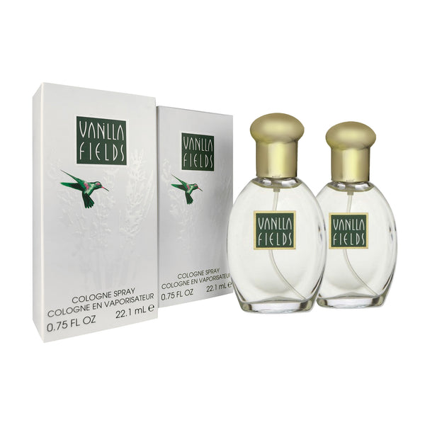 Coty Vanilla Fields 0.75 oz Cologne Spray 2 Pack