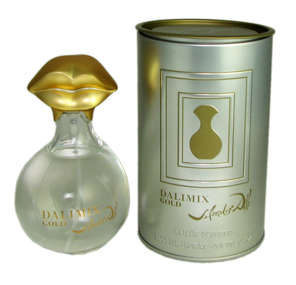 Dalimix Gold for Women by Salvador Dali 3.3 oz Eau de Toilette Spray