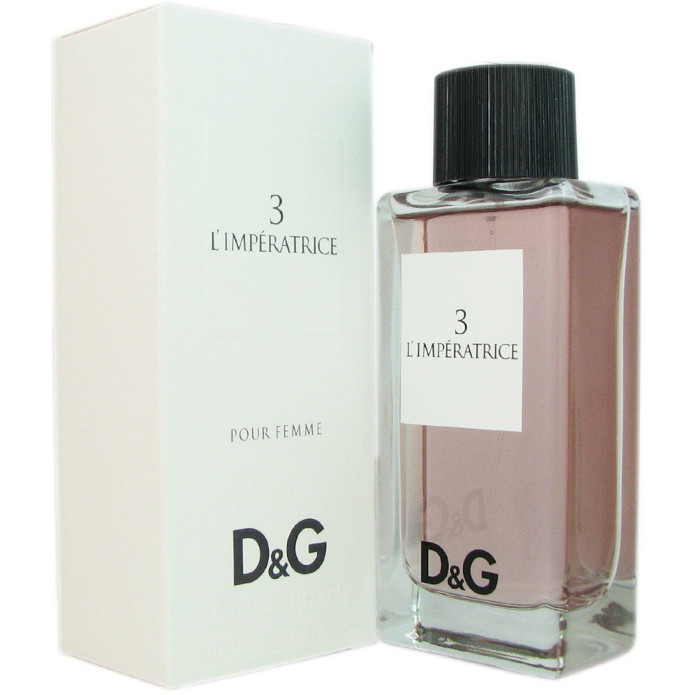 3 L'Imperatrice for Women by Dolce & Gabbana 3.3 oz Eau de Toilette Spray.