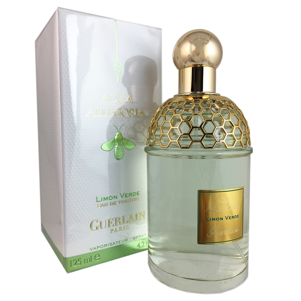 Aqua Allegoria Limon Verde for Women By Guerlain 4.2 oz oz Eau de Toilette Spray