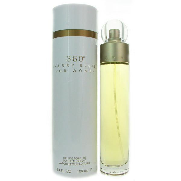 360 for Women by Perry Ellis 3.4 oz Eau de Toilette Spray