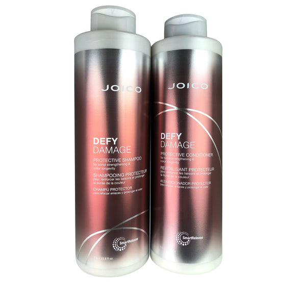Joico Defy Damage Shampoo & Conditioner DUO Liter 33.8 oz