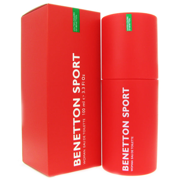 Benetton Sport for Women By united Colors of Benetton 3.3 oz Eau de Toilette Spray