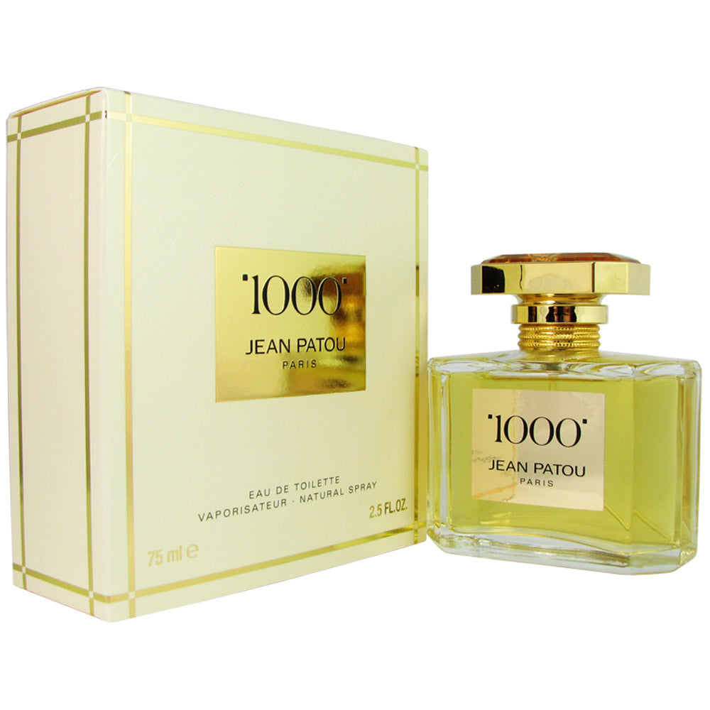 1000 for Women by Jean Patou 2.5 oz Eau de Toilette Spray