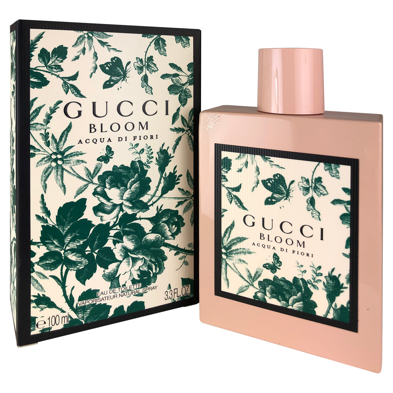 Gucci Bloom Acqua Di Fiori For Women By Gucci 3.3 oz Eau de Toilette Spray