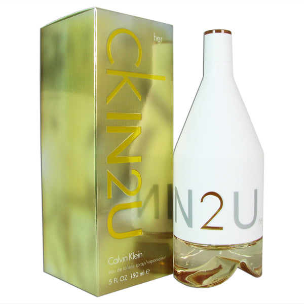 CK IN 2 U Women by Calvin Klein 5.0 oz Eau de Toilette Spray