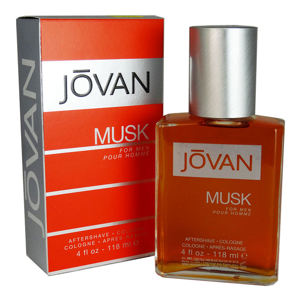 Jovan Musk for Men by Coty 4 oz After Shave Eau de Cologne Splash