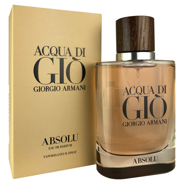 Acqua Di Gio For Men by Giorgio Armani 2.5 oz Eau De Parfum Spray