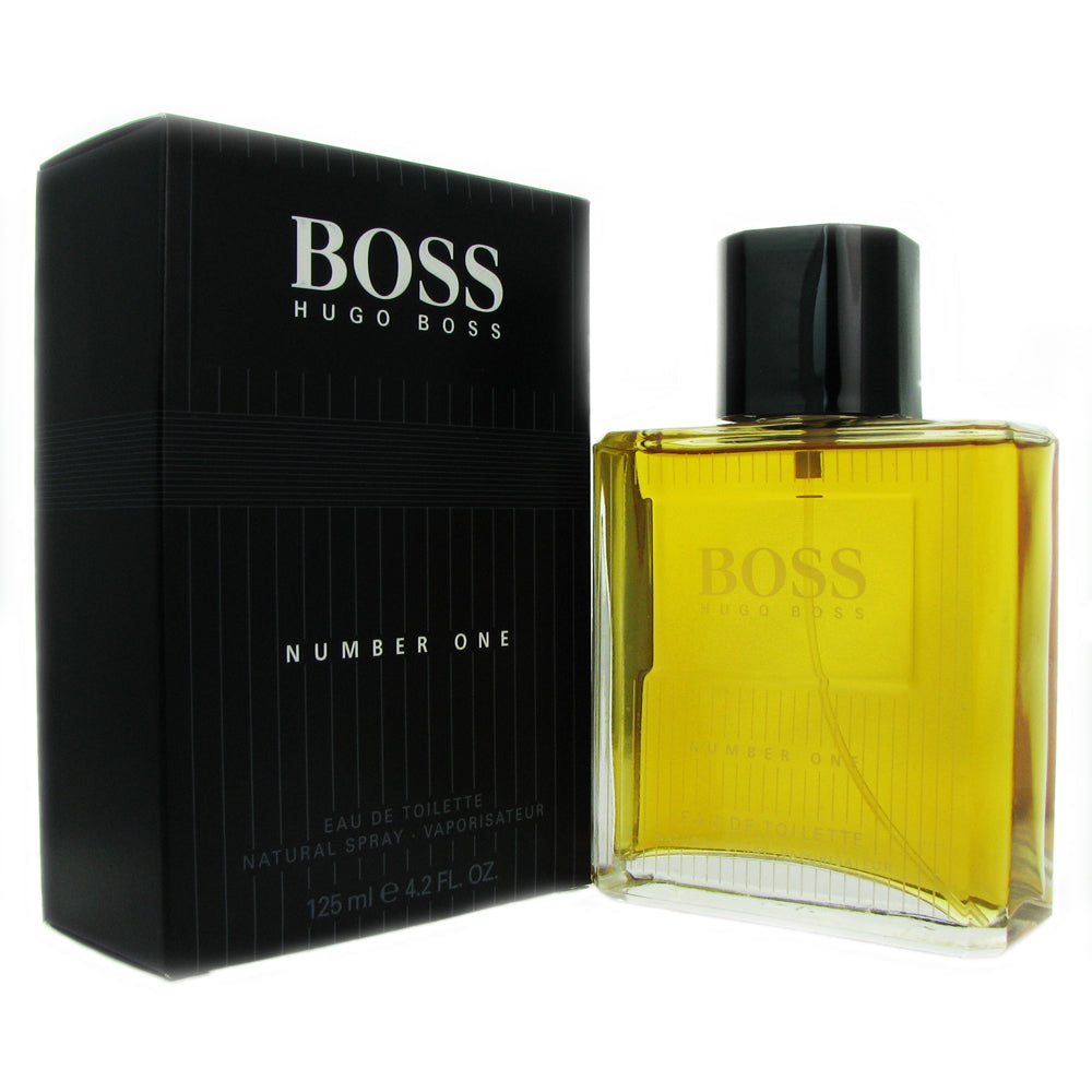 Boss # 1 for Men by Hugo Boss 4.2 oz 125 ml Eau de Toilette Spray