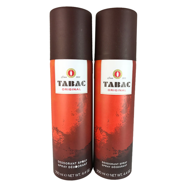 Tabac Original for Men By Maurer and Wirtz 4.4 oz Deo. Spray - Two