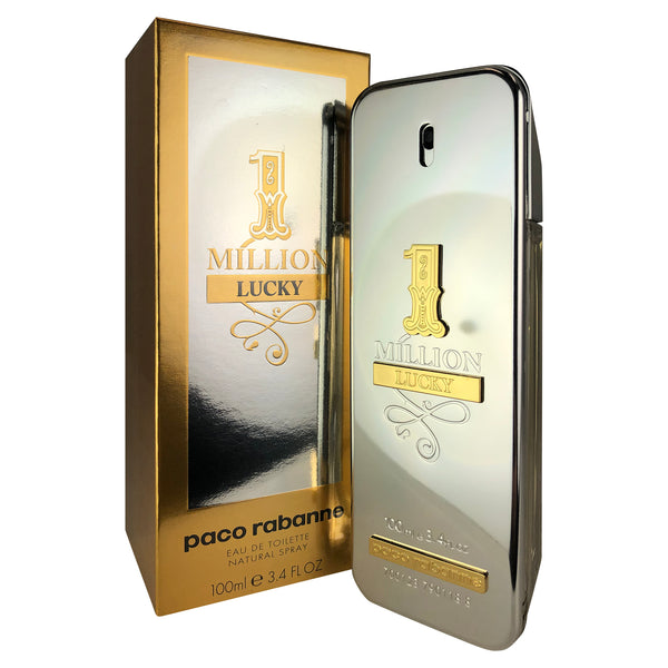 1 Million Lucky For Men By Paco Rabanne 3.4 oz Eau De Toilette Spray