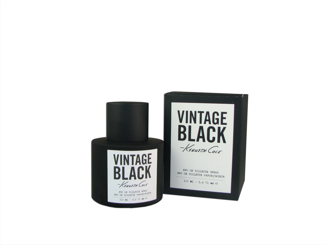Black Vintage for Men by Kenneth Cole 3.4 oz Eau de Toilette Spray