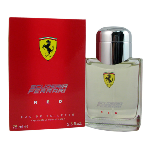Ferrari Scuderia Red for Men 2.5 oz Eau de Toilette Natural Spray
