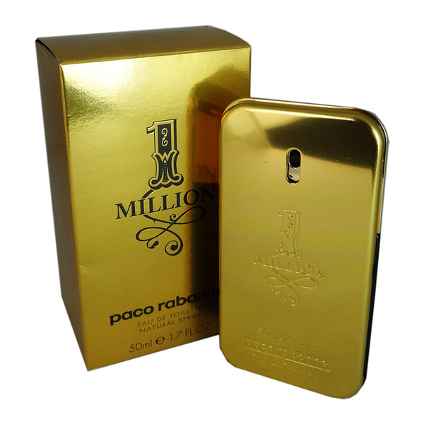 1 Million for Men by Paco Rabanne 1.7 oz Eau de Toilette Spray