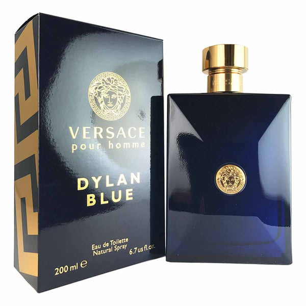 Versace Dylan Blue For Men by Versace 200 Ml 6.7 oz Eau De Toilette Spray