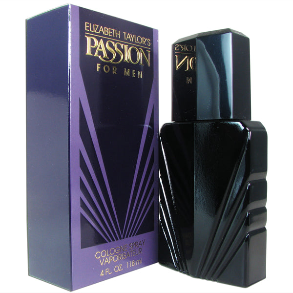Passion Men by Elizabeth Taylor 4 oz Eau de Cologne Spray