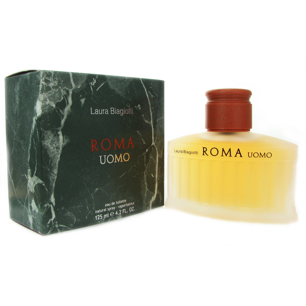 Roma for Men by Laura Biagiotti 4.2 oz Eau de Toilette Spray