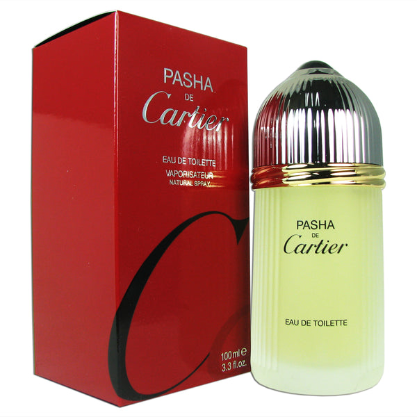 Pasha de Cartier for Men by Cartier 3.3 oz Eau de Toilette Spray
