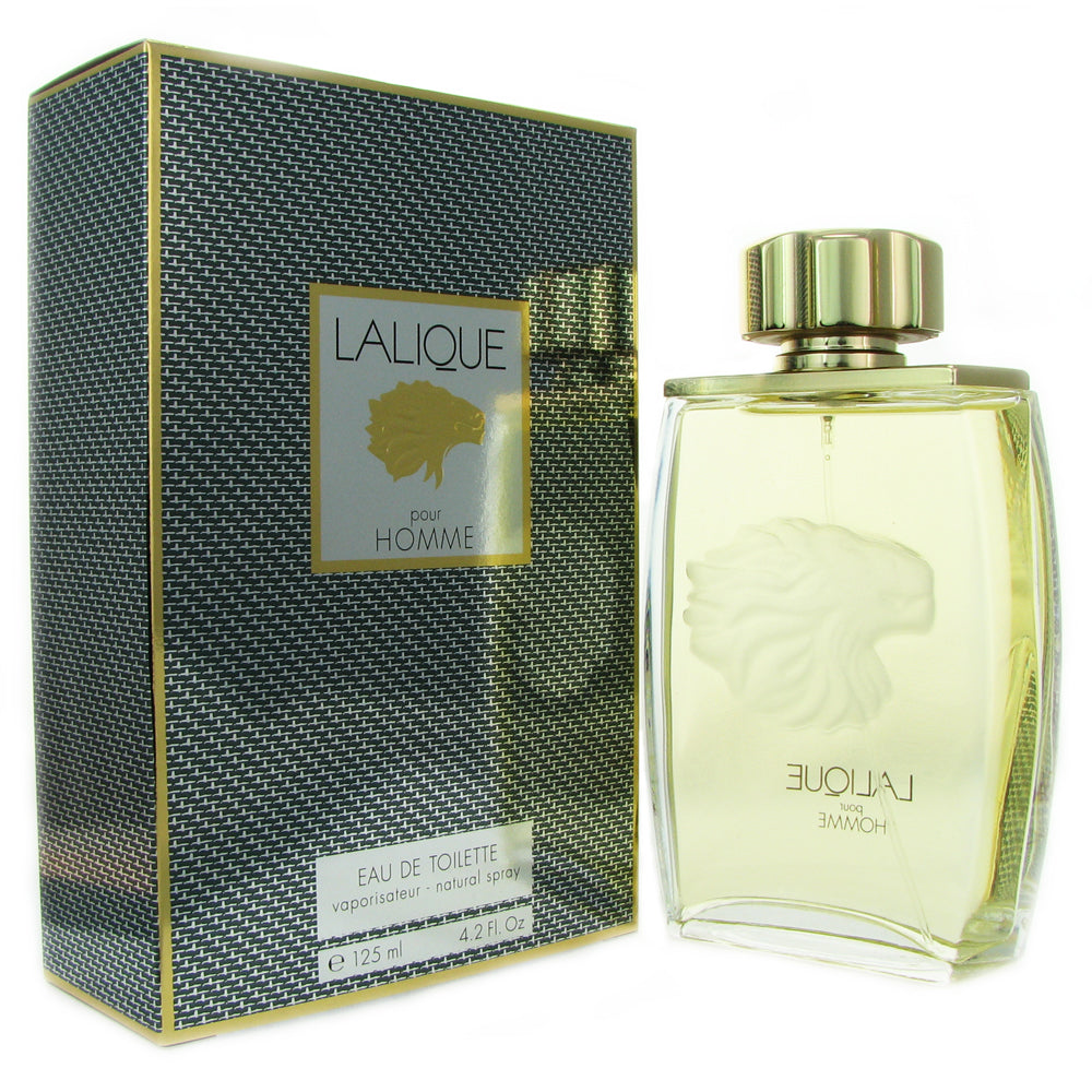 Lalique for Men by Lalique 4.2 oz Eau de TOILETTE Natural Spray / LYON