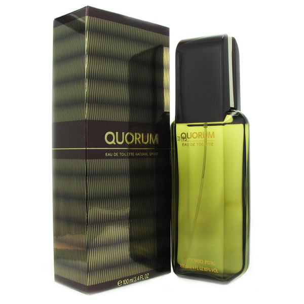Quorum for Men by Puig 3.3 oz Eau de Toilette Spray