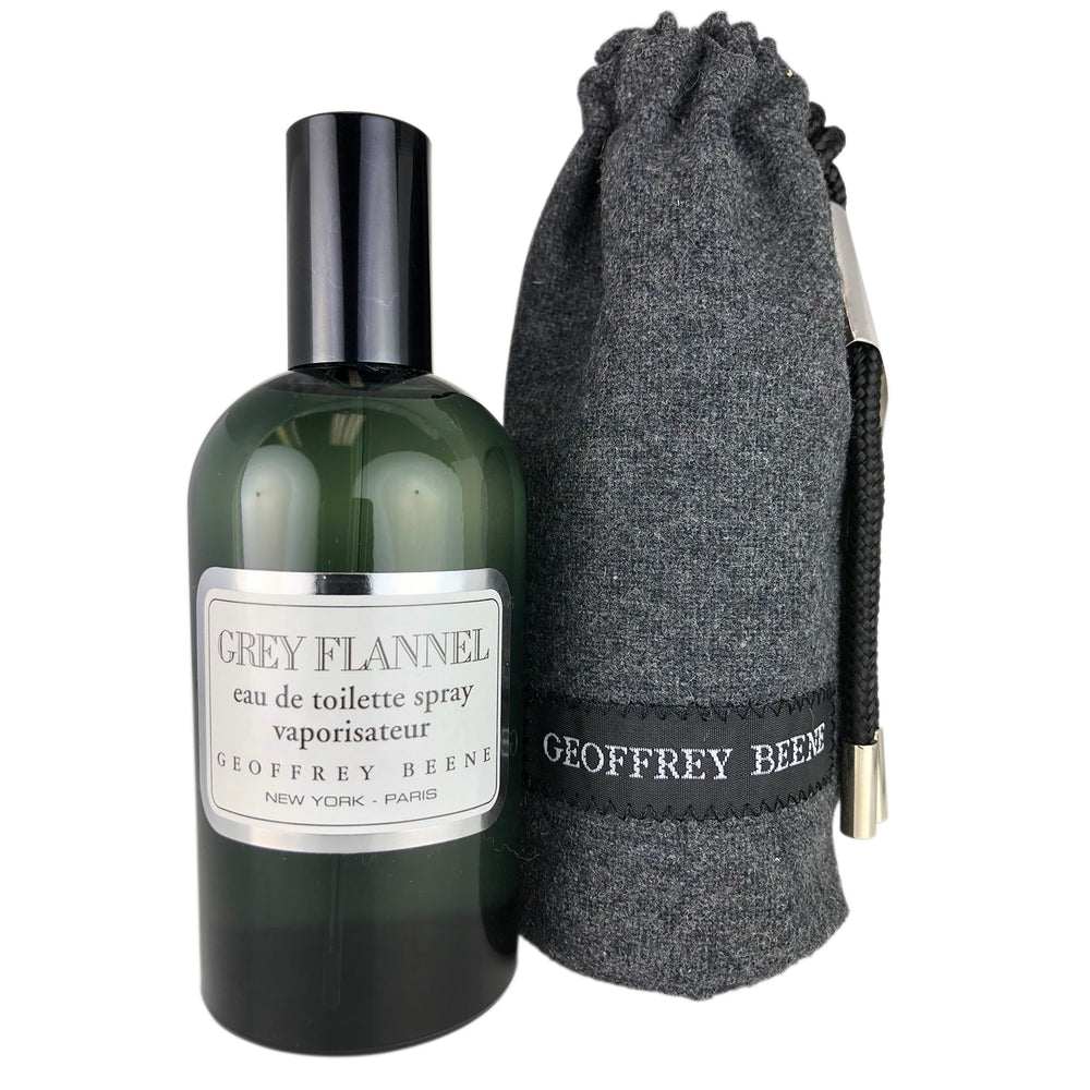 Grey Flannel for Men by Geoffrey Beene 4 oz Eau de Toilette Spray