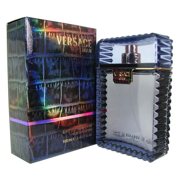 Versace Man 3.4 oz 100 ml Eau de Toilette Spray