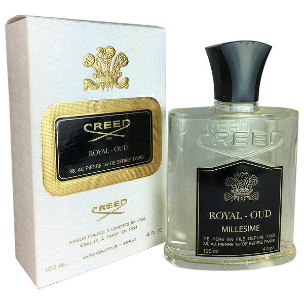 Creed Royal Oud For Men by Creed 4.0 oz Eau de Parfum Millesime Spray