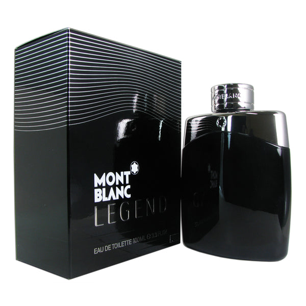 Legend for Men by Mont Blanc 3.3 oz Eau de Toilette Spray