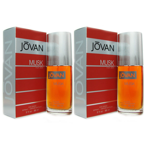 Jovan Musk Men Coty 3 oz Col. Sp TWO