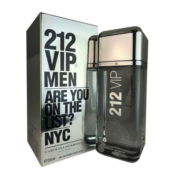 212 VIP Men for Men by Carolina Herrera 6.75 oz Eau de Toilette Spray