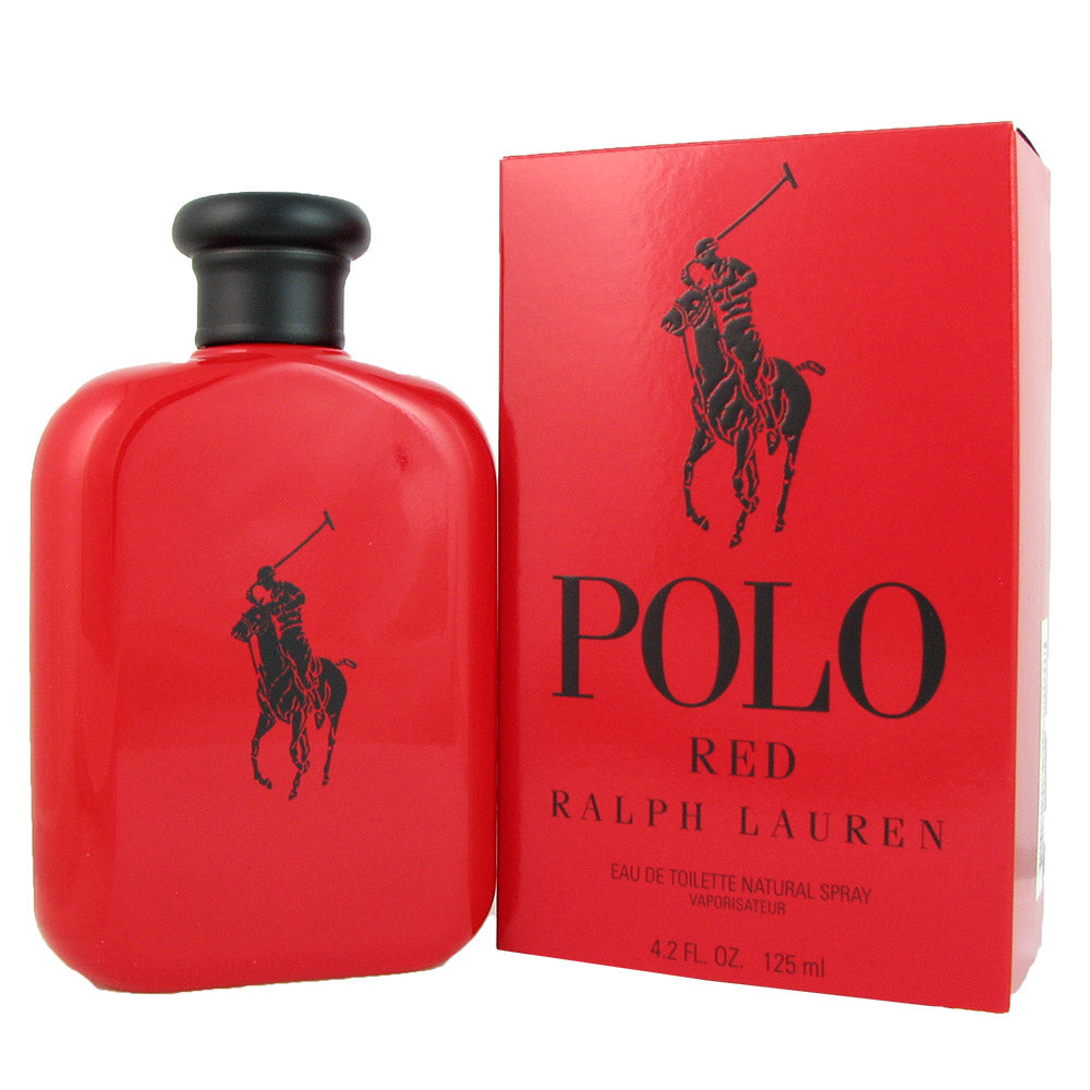 Polo Red for Men by Ralph Lauren 4.2 oz Eau de Toilette Spray