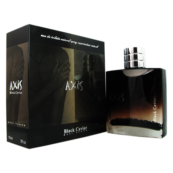 Axis Black Caviar Men by SOS Creations 3.0 oz EDT SP
